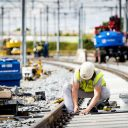 Work on rail tracks