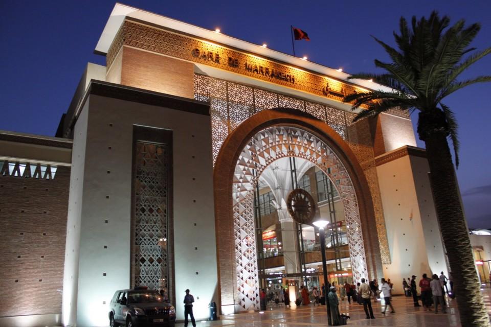 Gare de Marrakech, train station