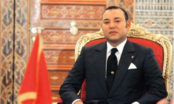 King Mohammed VI king of Morocco