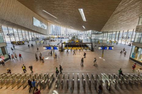 Rotterdam Central Station, interior