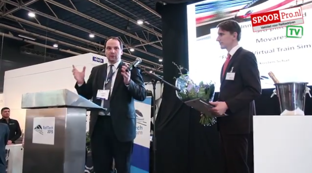 GeoNext, Innovation Award, RailTech 2015