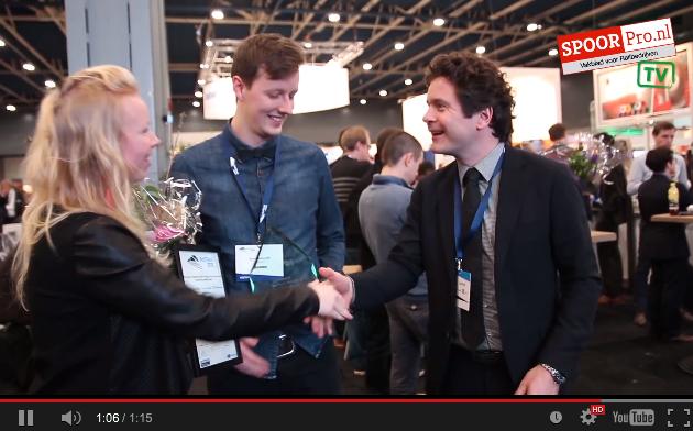 Young Innovation Award RailTech 2015