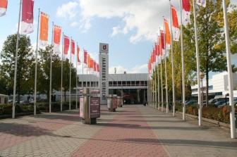 Jaarbeurs Utrecht, entrance