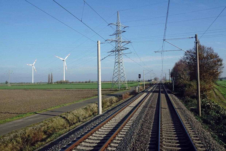 Spoorlijn in Duitsland