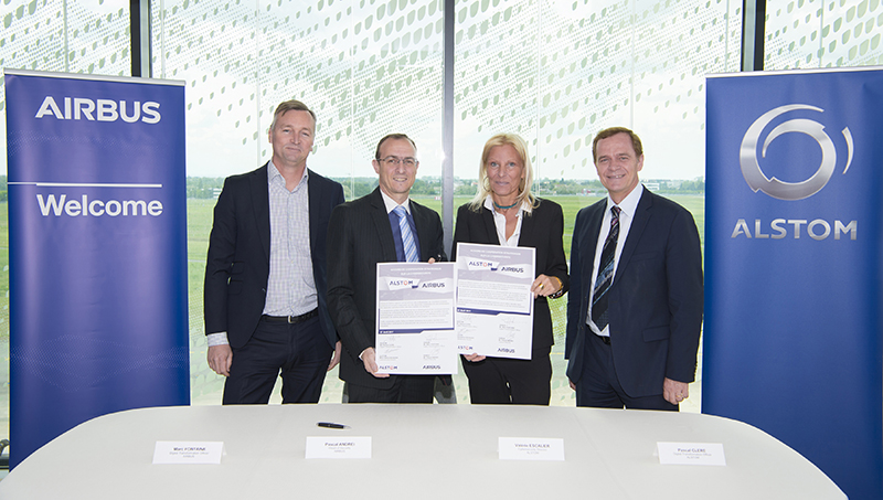 Cyber security agreement Airbus and Alstom