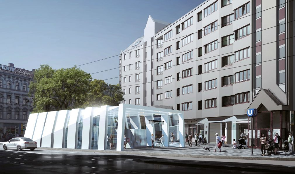 Metroline U5 in Vienna, source: Wiener Linien