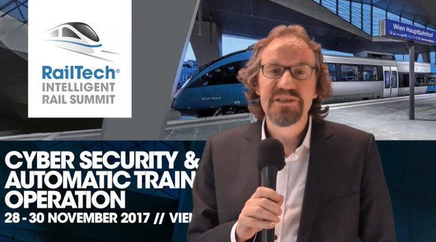 Professor Rob Goverde video Intelligent Rail Summit 2017