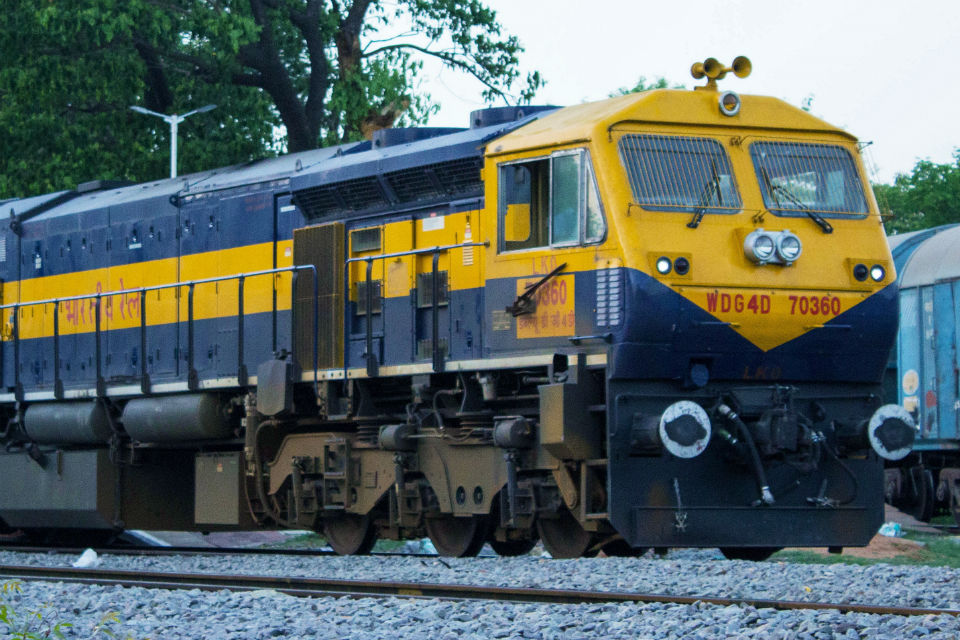A freight train of Diesel Locomotive Works. Photo: Wikipedia