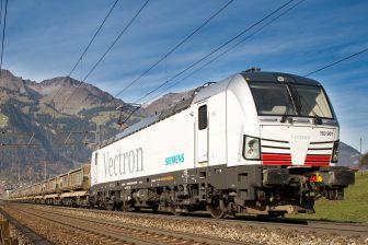 Siemens Vectron locomotive
