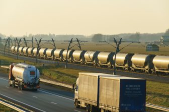 Freight train Betuweroute