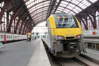 Locomotive NMBS train Belgium