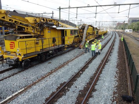 Track maintenance Netherlands ProRail