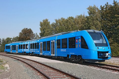 Alstom Coradia iLint hydrogen-powered train