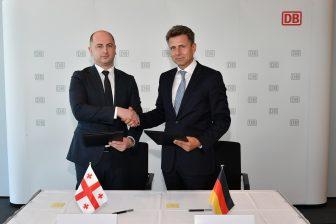 Deutsche Bahn and Georgian Railways sign partnership deal