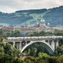 Mutz train Bern Switserland