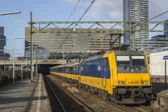 traxx locomotive Dutch Railways (NS)