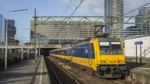 traxx locomotive Dutch Railways (NS)