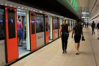 Metro's Noord/Zuidlijn