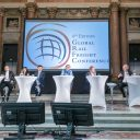 Pier Eringa at the Global Rail Freight Conference in Genoa, photo: Philippe Fraysseix