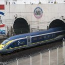 TGV Eurostar Velaro E320 coming out of Channel Tunnel