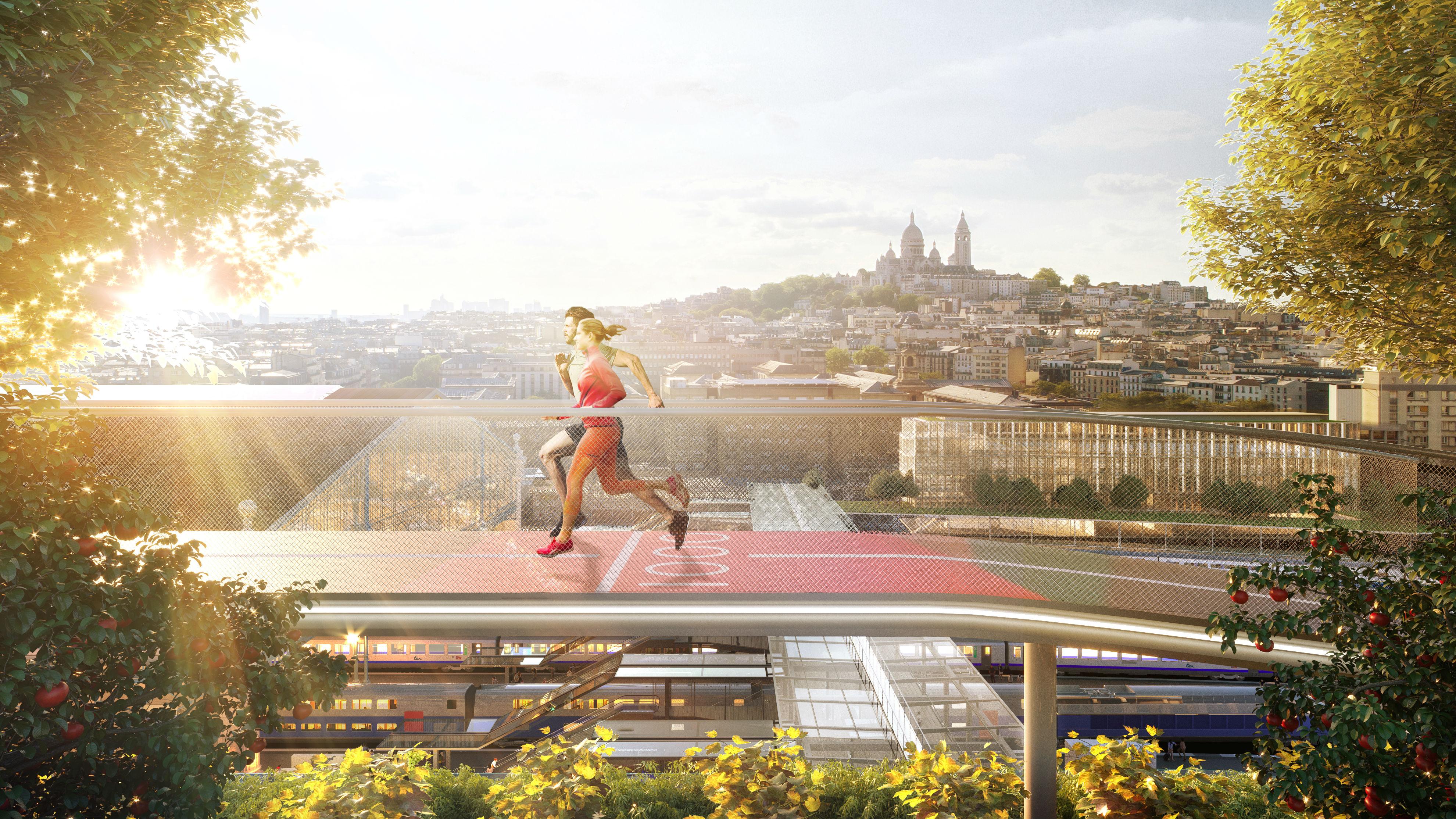 SNCF Gares&Connexions - Ceetrus - Valode & Pistre Architectes