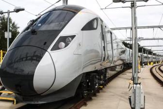 Hitachi Rail Europe Nova 1 train