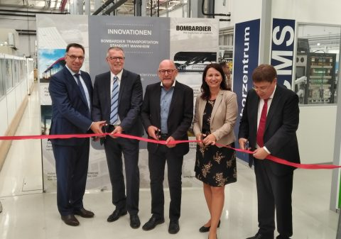 Bombardier Transportation Inagurates New Hi-Tech Lab in Mannheim