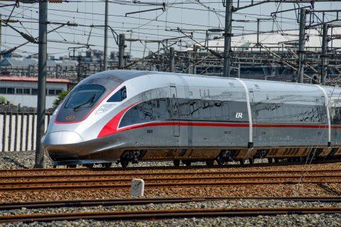The high speed line between Guangzhou, Shenzhen and Hongkong
