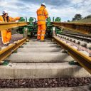 Laying track for the borders railway