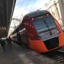 Lastochka Siemens Desiro train Russia