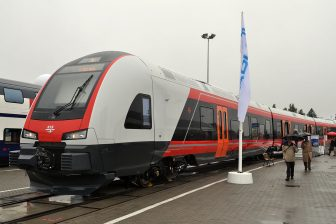 Stadler Flirt of the NSB. By: MPW57
