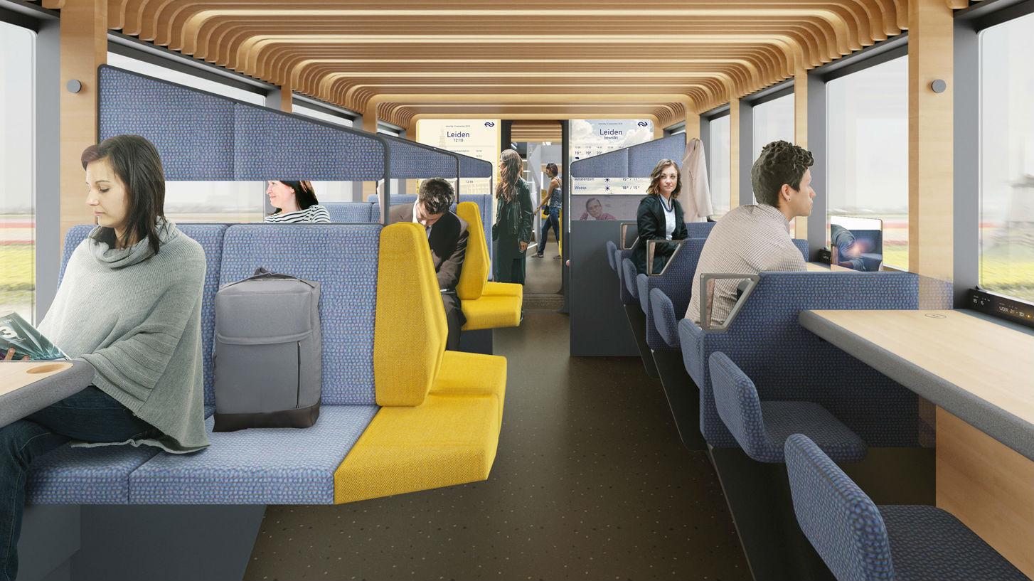 Concept new train interior NS