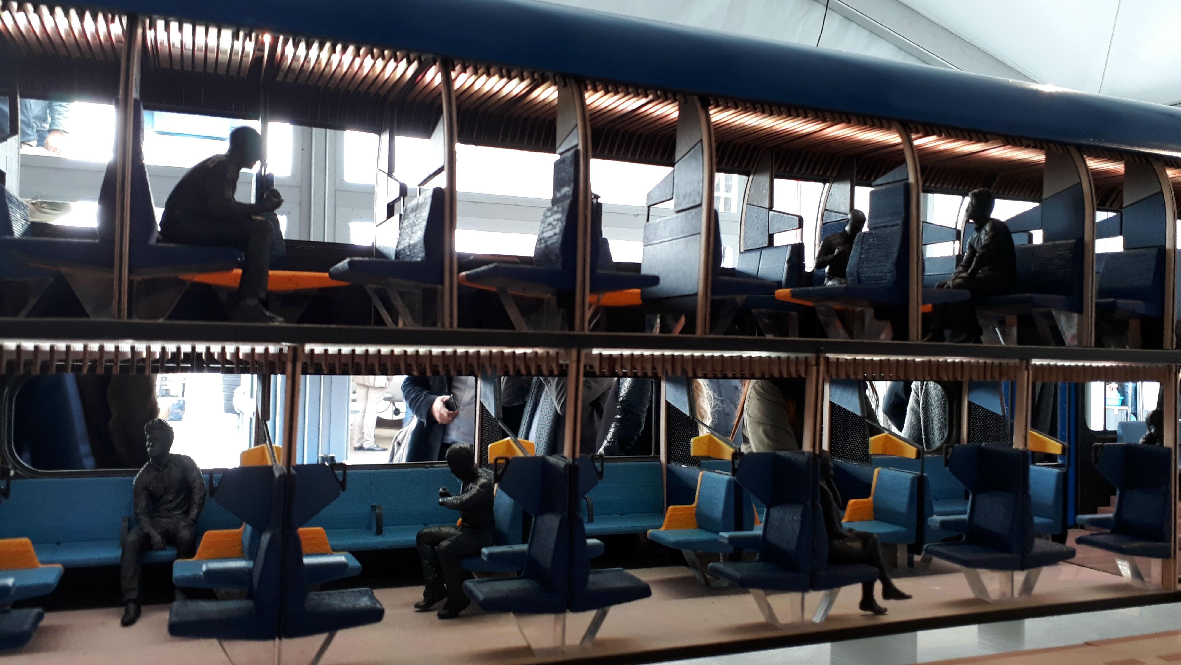 mock-up interior NS train