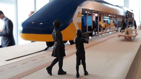 Photo mock-up new interior NS trains