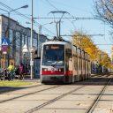 Linie 25 to Aspern of Wiener Linien