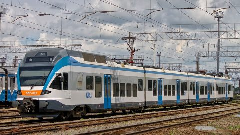 Stadler Flirt in Belarus, source: Wikimedia Commons