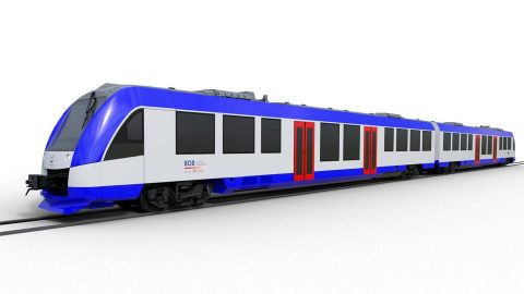 Alstom Coradia Lint train, source: Alstom