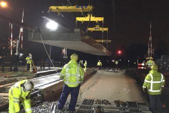Concrete rail crossing, source: voestalpine Railpro