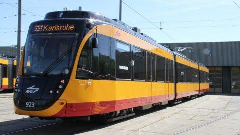 Karlsruhe Flexity tram, source: Bombardier Transportation