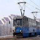Konstal 105Na tram in Krakow, source: Wikipedia