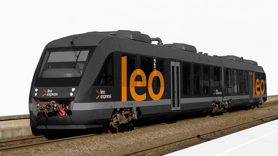 Leo Express Lint 41 train, source: Leo Express