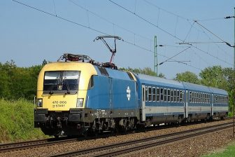MAV InterCity train, source: Wikipedia