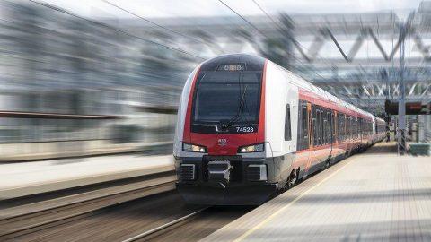 NSB Flirt train, source: Stadler