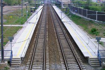 Railway tracks in Czechia, source: Wikipedia