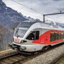 Schweizerische Südostbahn (SOB) Flirt train, source: SOB