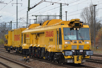 Strabag Rail milling train, source: Strabag Rail