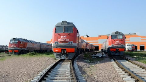2ТE25КМ diesel locomotives, source: Transmashholding
