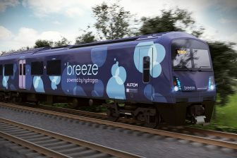 Breeze hydrogen train, source: Alstom