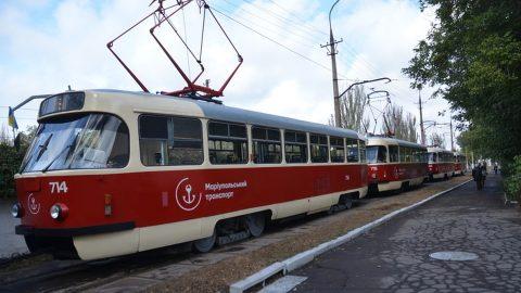 zech Tatra T3 trams in Mariupol, source: Mariupol city council