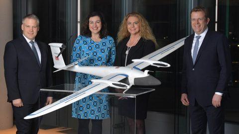 Deutsche Bahn drone, source: Deutsche Bahn